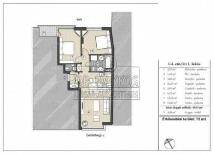 Kiadó új építésű lakás, Budapest, Krisztinaváros, 3 szobás