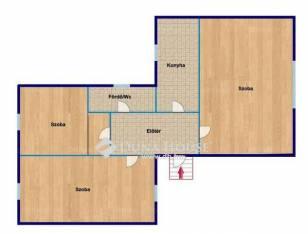 Eladó ikerház, Emőd, 3 szobás