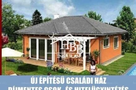 Harkai új építésű családi ház eladó, 81 négyzetméteres, 1+2 szobás
