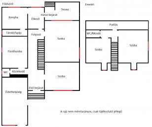 Eladó családi ház Gyüre a Bessenyei György utcában 13-ban, 4 szobás