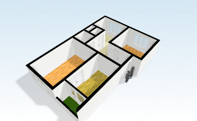 Tiszaújváros lakás eladó, Bolyai János köz, 3 szobás