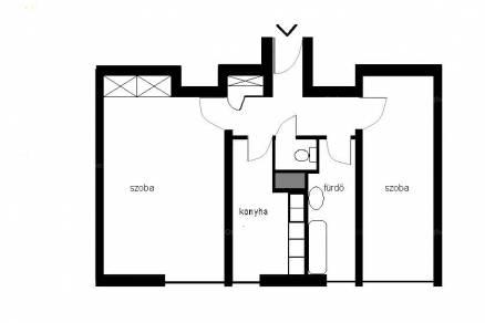 Barcs lakás eladó, Bajcsy-Zsilinszky utca 37.., 2 szobás