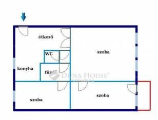 Eladó 2+1 szobás lakás Corvin negyedben, Budapest