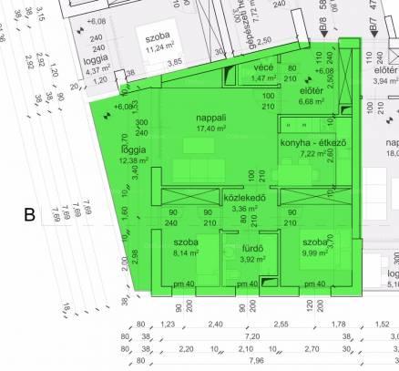 Eladó 2+1 szobás új építésű lakás Eger, Kertész utca