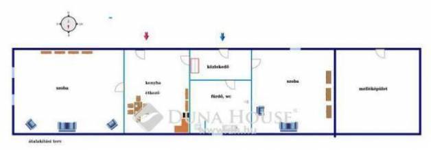 Gyöngyössolymos családi ház eladó, 1 szobás