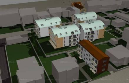 Pécsi új építésű lakás eladó, 44 négyzetméteres, 1 szobás