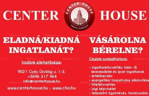 Győri eladó telek, 24830 négyzetméteres