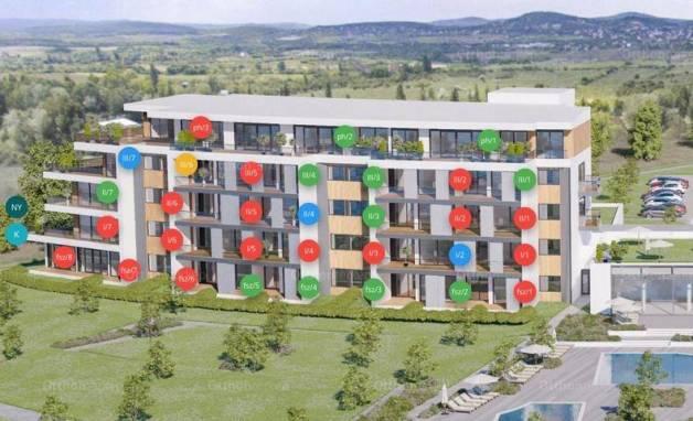 Balatonfüred 2 szobás új építésű lakás eladó