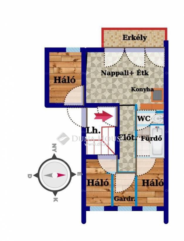 Eladó 2+2 szobás új építésű lakás Székesfehérvár a Budai úton