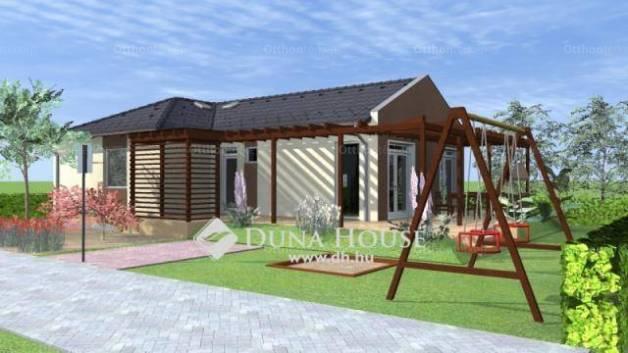 Szolnoki új építésű családi ház eladó, 99 négyzetméteres, 1 szobás