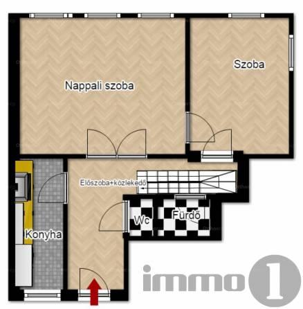 Eladó 4 szobás lakás Erzsébetvárosban, Budapest, Dob utca