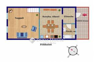 Eladó házrész Pesterzsébeten, XX. kerület Dobos utca, 3 szobás