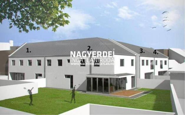 Debreceni új építésű ikerház eladó, 178 négyzetméteres, 5 szobás