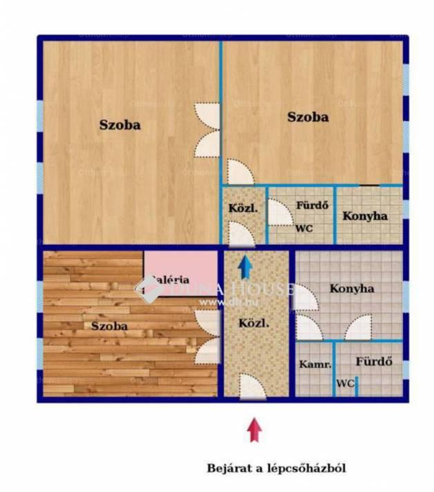 Kőszeg lakás eladó, Rákóczi Ferenc utca, 3 szobás