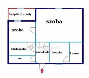 Eladó lakás Angyalföldön, XIII. kerület Övezet utca, 1+1 szobás