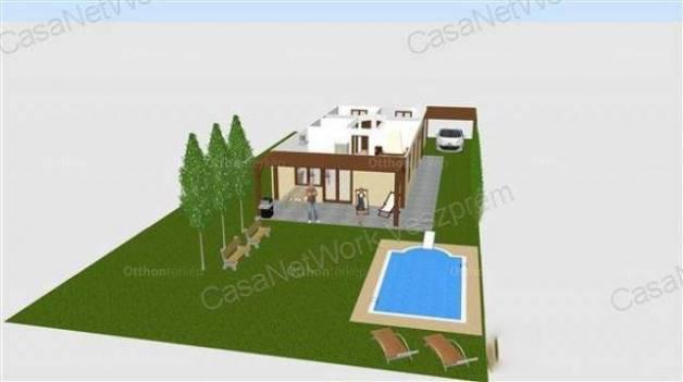 Veszprémi eladó telek, 506 négyzetméteres