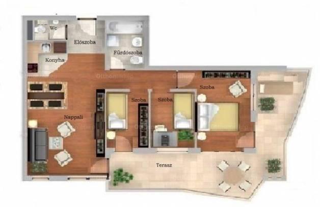 Eladó lakás Budapest, 2+2 szobás, új építésű