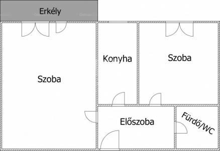Veszprém lakás eladó, 1+1 szobás