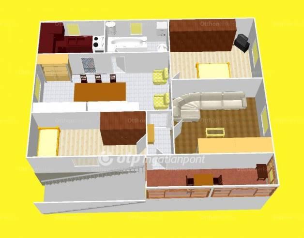 Eladó, Létavértes, 3+1 szobás