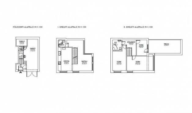 Debreceni eladó sorház, 4 szobás, 100 négyzetméteres