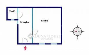 Budapest eladó lakás, Józsefváros, Lujza utca, 27 négyzetméteres