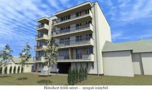 Eladó új építésű lakás Angyalföldön, 1+1 szobás