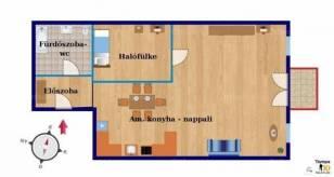 Lakás eladó Budapest, 39 négyzetméteres