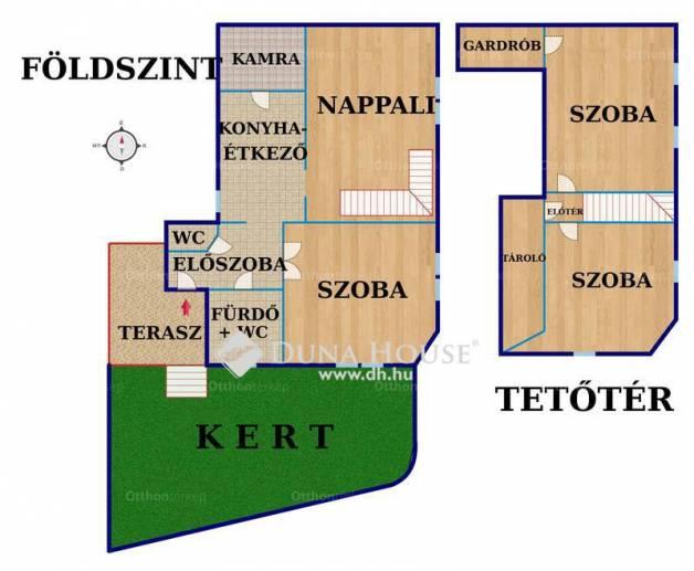 Eladó 4 szobás Pécs a Jászai Mari utcában