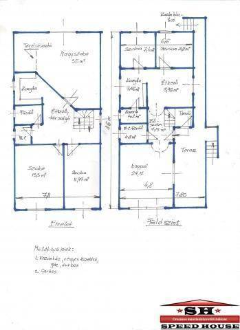 Eladó 4+2 szobás családi ház Zalacsány
