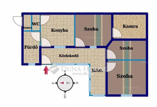 Eladó ház Csősz a Petőfi Sándor utcában, 3 szobás