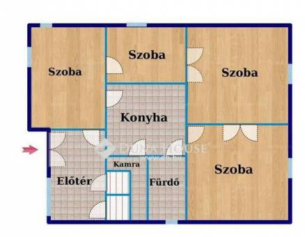 Eladó családi ház Csepel-Szabótelepen, XXI. kerület Vasas utca, 3+1 szobás