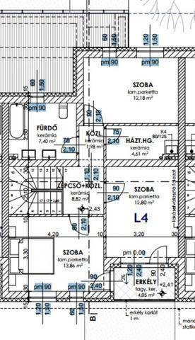 Új Építésű eladó lakás Győr, 5 szobás