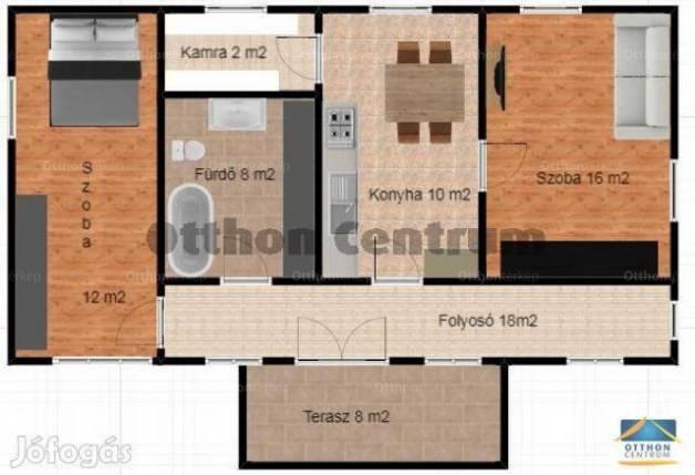 Családi ház eladó Előszállás, 80 négyzetméteres