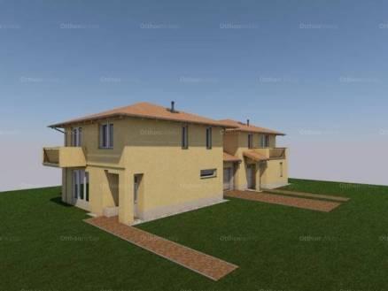 Dunakeszi új építésű ikerház eladó, 126 négyzetméteres, 2+2 szobás