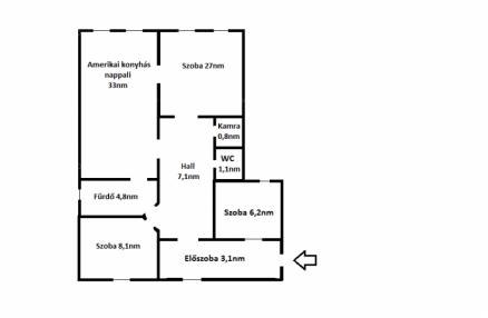 Budapest eladó lakás Józsefvárosban a Diószegi Sámuel utcában, 100 négyzetméteres