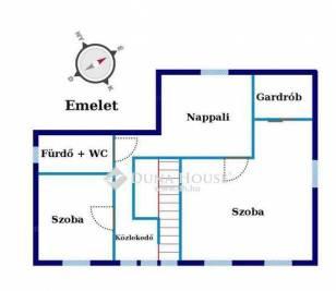 Eladó ház Miklóstelepen, XVIII. kerület Derkovits Gyula utca, 3+2 szobás
