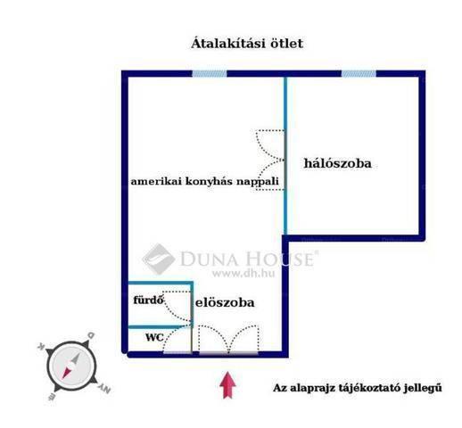 Eladó lakás, Budapest, Belső-Ferencváros, Boráros tér, 2 szobás
