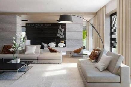 Budapest eladó új építésű ikerház Németvölgyben, 210 négyzetméteres