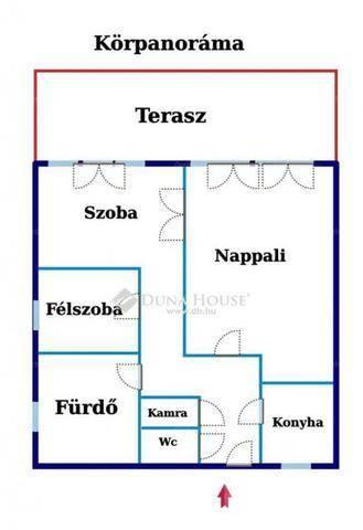 Budapest eladó lakás, Vérhalom, Gárdonyi Géza út, 78 négyzetméteres