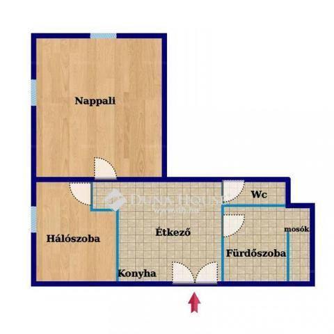 Eladó 2 szobás lakás Terézvárosban, Budapest, Benczúr utca