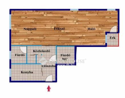 Budapest kiadó lakás, Lipótváros, Széchenyi rakpart, 78 négyzetméteres