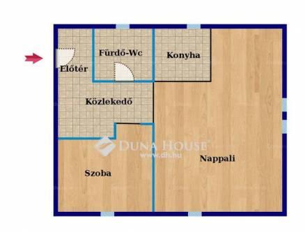 Pécsi eladó lakás, 1+1 szobás, a Hungária utcában, új építésű