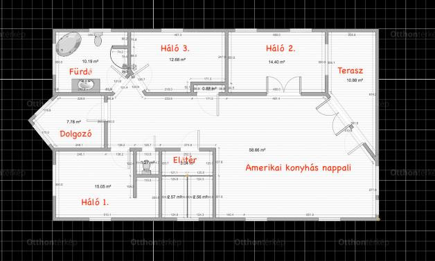 Budaörs 3+2 szobás lakás eladó a Halom utcában 15.