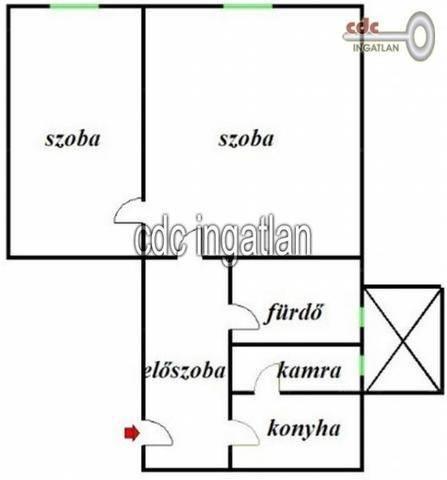 Eladó 2 szobás lakás Józsefvárosban, Budapest, Népszínház utca