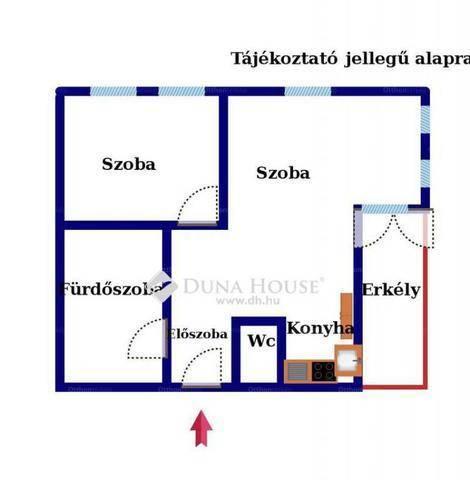 Budapest eladó lakás Alsórákoson az Egressy úton, 45 négyzetméteres