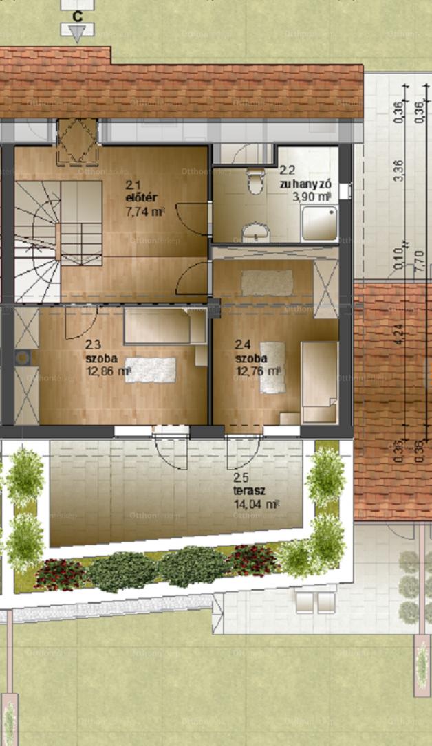 Eladó lakás Kőszeg Borostyánkő utca, új építésű