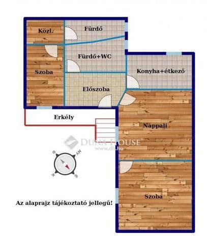 Eladó 2+1 szobás lakás Terézvárosban, Budapest, Király utca