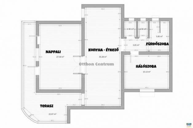 Eladó 3+2 szobás családi ház Dunakeszi a Margit utcában
