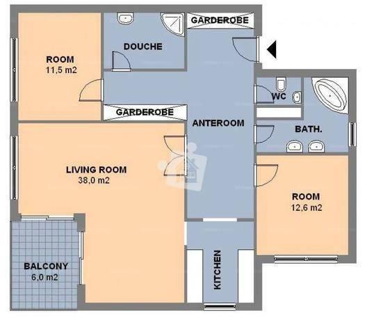 Kiadó 3 szobás lakás Törökvészen, Budapest, Fillér utca