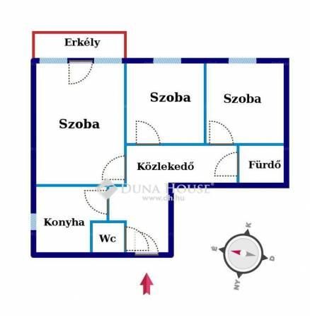 Lakás eladó Pécs, 68 négyzetméteres